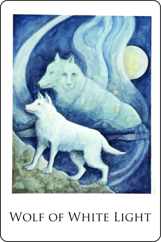 Wolf of White Light CARD